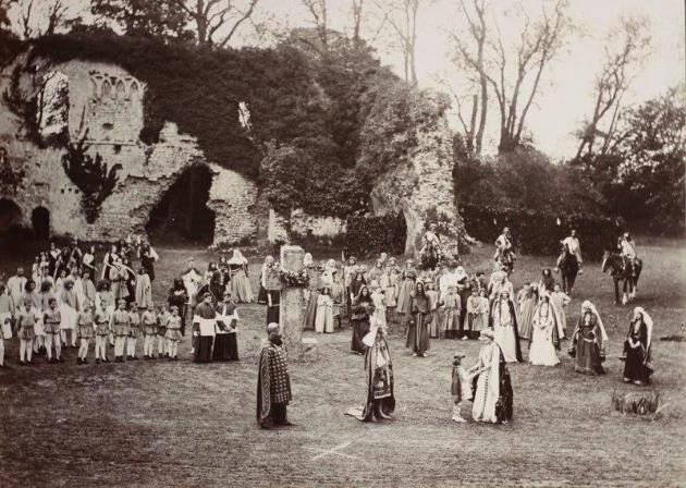 Historical Pageants: from Sherborne 1905 to Olympic Stadium 2012