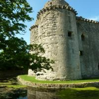 Mells village trail and Nunney