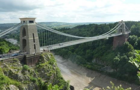 Aspects of Bristol:     Slave trade and Brunel's Clifton suspension bridge