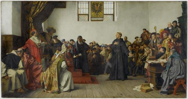 The Diet of Worms 1521